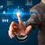 технологий · бизнесмен · виртуальный · интерфейс · веб - Сток-фото © ra2studio