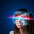 przyszłości · kobieta · wysoki · tech · smart · okulary - zdjęcia stock © ra2studio