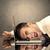 triste · empresario · cabeza · pared · italiano - foto stock © ra2studio