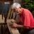 vieux · travail · main · bois · construction · industrie - photo stock © ra2studio