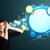 Sprechblase · Cloud · Computing · Wort-Wolke · Rechnen · weiß · Business - stock foto © ra2studio