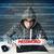 jonge · geek · hacker · wachtwoord · futuristische - stockfoto © ra2studio