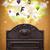 boîte · vintage · boîte · aux · lettres · mail · antique · horloge - photo stock © ra2studio