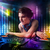 jouer · disco · lumière · montrent · jeunes · fête - photo stock © ra2studio