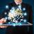 бизнесмен · цифровой · таблетка · мира · глобализация - Сток-фото © ra2studio