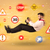 voorzichtigheid · glad · verkeersbord · Geel · zwarte · auto - stockfoto © ra2studio