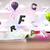 nyitott · könyv · repülés · 3D · levelek · beton · színes - stock fotó © ra2studio