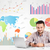 business man with colorful charts stock photo © ra2studio