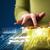 hand · touchpad · tablet · business · markt - stockfoto © ra2studio