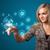 女實業家 · 簡單 · 類型 · 開始 · 按鈕 - 商業照片 © ra2studio