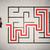 потеряли · бизнесмен · способом · лабиринт · красный · стрелка - Сток-фото © ra2studio