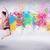 fabelachtig · meisje · springen · verf · vrouw · bos - stockfoto © ra2studio