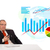 zakenman · vergadering · bureau · statistiek · geïsoleerd - stockfoto © ra2studio