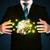 biznesmen · garnitur · utrzymać · ziemi · świecie · człowiek - zdjęcia stock © ra2studio