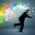 ejecutando · empresario · aplicación · iconos · dispositivo · colorido - foto stock © ra2studio