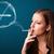 小さな · 女性 · 喫煙 · 不健康 · たばこ - ストックフォト © ra2studio