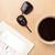 職場 · カレンダー · カップ · コーヒー - ストックフォト © ra2studio
