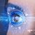 девушки · глаза · глядя · синий · Iris · современных - Сток-фото © ra2studio