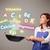 若い女性 · 料理 · ビタミン · かなり · 食品 - ストックフォト © ra2studio