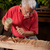travail · ciseler · vieux · main · bois · construction - photo stock © ra2studio