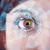 toekomst · vrouw · technologie · oog · paneel · abstract - stockfoto © ra2studio