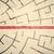 üzletember · áll · körkörös · labirintus · piros · nyíl - stock fotó © ra2studio
