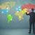 üzletember · interaktív · világtérkép · technológia · kéz · térkép - stock fotó © ra2studio