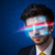 uomo · futuro · alto · tech · Smart · occhiali - foto d'archivio © ra2studio