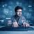 нарушитель · электронная · почта · талантливый · молодые · хакер - Сток-фото © ra2studio