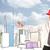 Bauarbeiter · Planung · Stadt · Sehenswürdigkeit · jungen · rot - stock foto © ra2studio