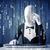 hacker decoding information from futuristic network technology with white symbols stock photo © ra2studio