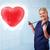 młodych · pielęgniarki · uzdrowienie · czerwony · serca · dość - zdjęcia stock © ra2studio