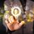 moderna · empresario · tocar · futuro · tecnología · red · social - foto stock © ra2studio