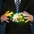 zakenman · pak · houden · aarde · wereldbol · man - stockfoto © ra2studio