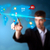 ビジネスマン · ソーシャルメディア · ボタン · 地図 · 未来的な - ストックフォト © ra2studio