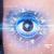 uomo · occhi · guardando · blu · Iris · moderno - foto d'archivio © ra2studio
