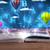 открытой · книгой · фантазий · аннотация · облака · шаров - Сток-фото © ra2studio