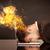 business · testa · brucia · depresso · imprenditore - foto d'archivio © ra2studio