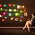 zakenvrouw · vergadering · bureaustoel · tablet · kleurrijk · app - stockfoto © ra2studio
