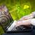 現代 · 筆記本 · 計算機 · 未來 · 技術 · 符號 - 商業照片 © ra2studio
