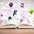 libro · abierto · vuelo · 3D · cartas · concretas · colorido - foto stock © ra2studio