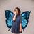 mão · humana · belo · borboleta · natureza · paisagem · jardim - foto stock © ra2studio