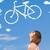 fiets · natuur · verkeersbord · milieuvriendelijk · verkeer - stockfoto © ra2studio