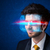 man with future high tech smart glasses stock photo © ra2studio