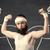 genç · zayıf · adam · kaslar · erkek - stok fotoğraf © ra2studio