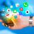 hand · smartphone · kleurrijk · app · iconen - stockfoto © ra2studio