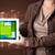 bayan · tablet · modern · yazılım · genç - stok fotoğraf © ra2studio