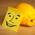 nota · rosto · sorridente · limão · papel · feliz - foto stock © ra2studio