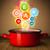 saudável · cozinhar · vapor · legumes · branco · comida - foto stock © ra2studio