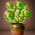 社会的ネットワーク · ツリー · 外に · 植木鉢 · 花 - ストックフォト © ra2studio